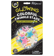 Great Explorations Glowing Colourful Twinkle Stars
