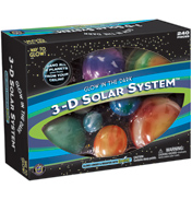 Great Explorations Glowing 3D Solar System