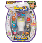 Grossery Gang Time Wars 10 Pack Flush & Fizz…
