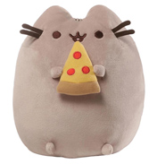 Gund Pusheen with Pizza Slice Soft Toy