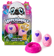 Hatchimals CollEGGtibles 2 Pack & Nest (Season…
