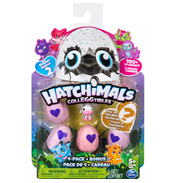 Hatchimals CollEGGTibles 4 Pack + Bonus (Season 2)