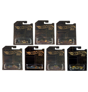 50th Anniversary Black & Gold Cars Assorted