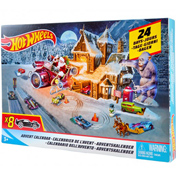 Advent Calendar with 8 Die-Cast Cars