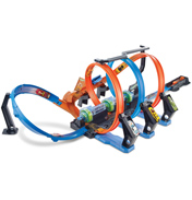 Corkscrew Crash Looping Track Playset