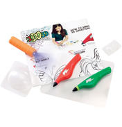 IDO3D Double Pen Activity Set Under The Sea