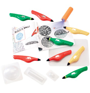 IDO3D Eight Pen Deluxe 3D Art Studio