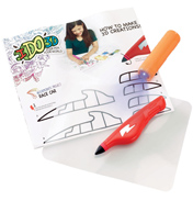 IDO3D Single Pen Starter Set Machines That Go (Red…