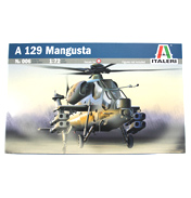 Italeri A-129 Mangusta Model Set (Scale 1:72)