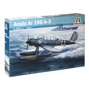 Italeri Arado Ar 196 A-3 Model Set (Scale 1:48)