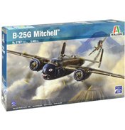 Italeri B-25G Mitchell Plane Model Kit (Scale…