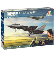 "Italeri ""Top Gun"" F-14A vs. A-4F Model Set (Scale…"