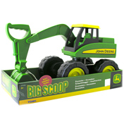 Tomy John Deere Big Scoop Excavator Sandbox Toy