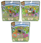 Jungle in My Pocket Jungle Play Pack Set (15 Piece)