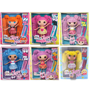 Lalaloopsy Loopy Hair Doll SPOT SPLATTER SPLASH