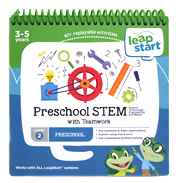 Leapstart Preschool STEM with Teamwork 30+ Page Activity Book