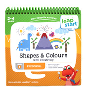 Leapstart Shapes & Colours with Creativity 30+ Page Activity Book