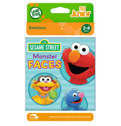 Sesame Street Monster Faces