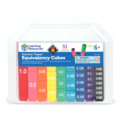 Fraction Tower Equivalency Cubes