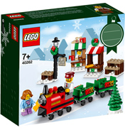 Christmas Train Ride Building Set