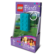 LEGO Friends 2x4 Lego Key Light Azure Blue