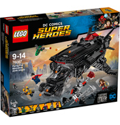 DC Juctice League: Flying Fox Batmobile Airlift Attack