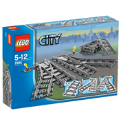 Lego City Switch Train Tracks