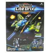 Lite Brix Lite Wars Sgt Scorcher Vs Fire Phantom