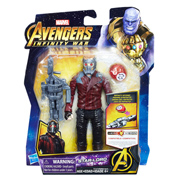 Avengers Infinity War 6-Inch Star Lord Figure with Infinity Stone & Accessory
