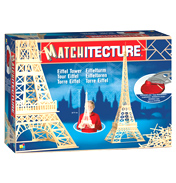 Matchitecture Eiffel Tower Matchstick Model