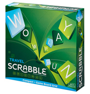 Travel Scrabble Compact Game