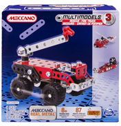 Meccano Multimodels Rescue Fire Truck Set