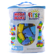Mega Bloks First Builders Building Bag 60 Pieces…