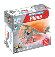 Science4you Metal Building Plane