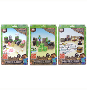 Minecraft Paper Craft 30+ Piece Set ANIMAL MOBS