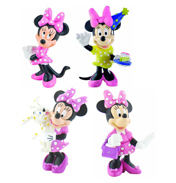 Bullyland Minnie Mouse Classic Figure with Bag