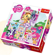 Trefl My Little Pony 3 in 1 Jigsaw Puzzle