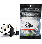 Nanoblock Miniature Collection Giant Panda