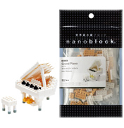 Nanoblock Miniature Collection Grand Piano (WHITE)