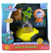 Octonauts GUP-D & Barnacles Set