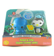 Octonauts Figure Pack Peso & the Giant Comb…
