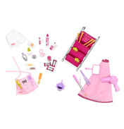 Berry Nice Salon Doll Playset