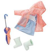 Brighten Up A Rainy Day Deluxe Doll Outfit
