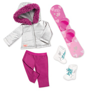 Chill on The Hill Deluxe Doll Outfit