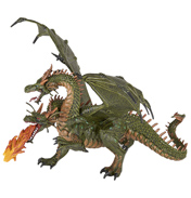 Fantasy World Two Headed Dragon Figure
