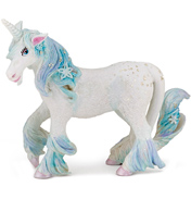 The Enchanted World Ice Unicorn Figure