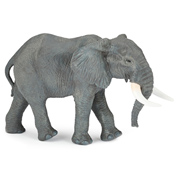 Wild Animal Kingdom Large African Elephant Figure
