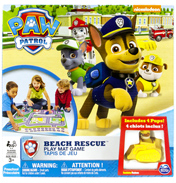 Paw Patrol Beach Rescue Playmat Game