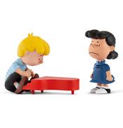 Peanuts Lucy & Schroeder Figure Pack