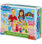 Peppa Pig Cra-Z-Art Softee Dough Mould N Play 3D…